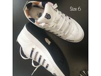 K-Swiss trainers
