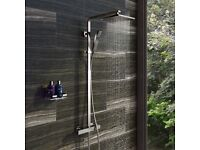 Brand New Shower Tetra thermostatic bar valve shower system £130