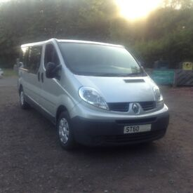 2010 Renault Trafic 9 seater minibus 100k, mot 2019 drives faultless, any trial