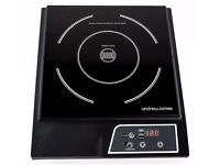 Andrew James Digital Electric Induction Hob 2000 Watt - Two New Hobs