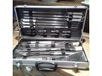 Barbeque utensil set