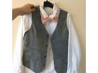 Grey page boy outfits. Two available