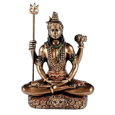 SEATED SHIVA STATUE 3.25