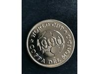 1990 World Cup football coins - 11 coins