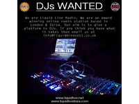 Talented DJs wanted