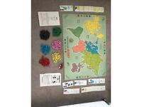 Vintage 1960s Risk board game by Waddingtons