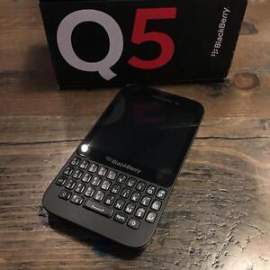 BlackBerry Q5 8GB Black - UNLOCKED - NEW! Guaranteed Activation + No Blacklist