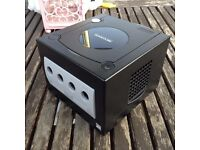Nintendo GameCube console only - in black