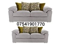 THIS WEEK SPECIAL OFFER BUOYANT CLIFTON 3+2 SEATER SOFAS FREE DELIVERY