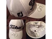 Signed Rory Mcilroy Titleist cap