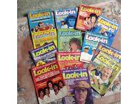 Vintage look-in Magazines