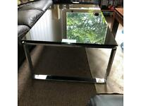 Glass Top Modern Design Coffee Table