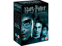 Harry Potter: The Complete Collection [DVD 8-Disc Box Set] VGC