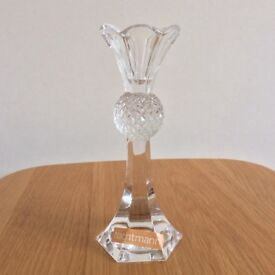 Nachtman Crystal thistle candle holder