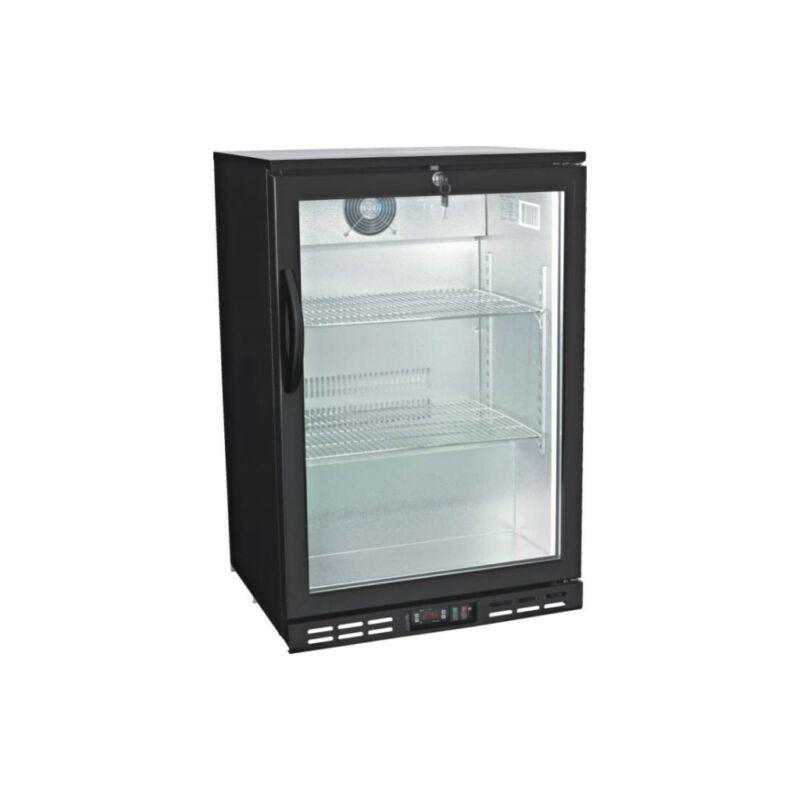 Glass Door Back Bar Beverage Cooler - Counter Height Beer Refrigerator