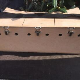 Bow Backed Triple Ferret Carry Box