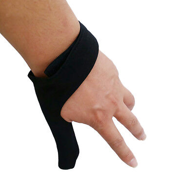 Bowling Ball Finger Hand Grip Protective Glove Unisex Bowling Thumb Saver