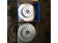 Vw golf tdi Mk5 2004 front brake disc