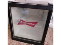 Huskey Budweiser Tabletop Fridge HM134