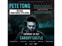 Pete Tong at Cardiff Castle - 2 x Tickets