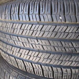 CONTINENTAL CONTI TOURING CONTACT 225/50R17 TIRES 95% TREAD