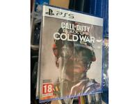 PS5 call of duty black ops Cold War - new