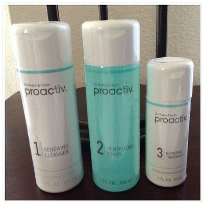 PROACTIV - 3 Pcs 60 Day Set-New & Sealed-FREE SHIPPING-exp 2018-PROACTIVE