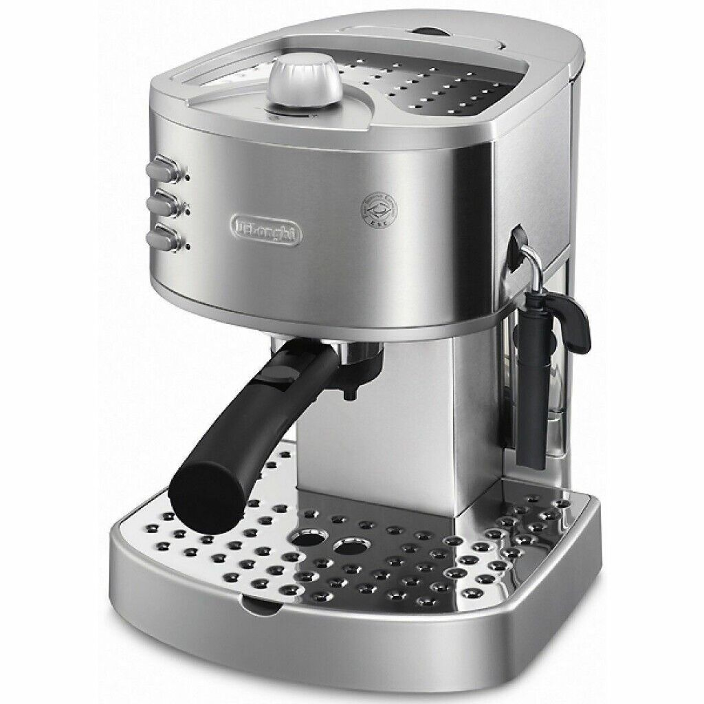 Delonghi Ec 330s Manual Espresso Coffee Machine With Accessories And Extra Naked Portafilter Basket In Leith Edinburgh Gumtree
