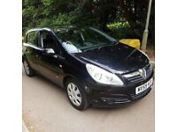 2009 '59' Vauxhall Corsa 1248 Club Cdti Eco Flex Genuine 82k Fsh New Mot