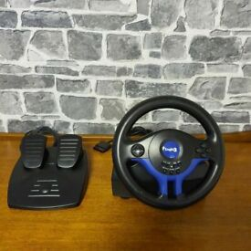 LOGIC 3 TOPDRIVE GT1 Steering Wheel & Pedals