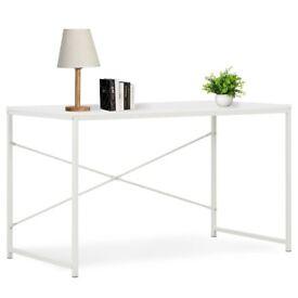 Computer Desk White 120x60x70 cm-20258