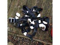 Vauxhall Astra Mk3 seat belts