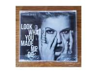 Taylor Swift Look What You Made Me CD Single NEW