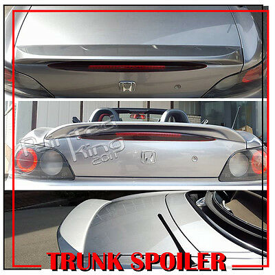 Stock in LA Painted For Honda S2000 OE STYLE Rear Trunk Spoiler Wing ABS NH630M