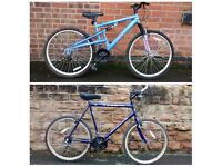 2 APOLLO MOUNTAIN BIKES FOR SALE
