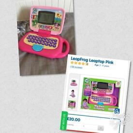 Like new leapfrog leaptop