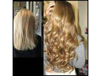 Micro rings/Flat-tips/Nano rings. Professional mobile hair stylist at the comfy of your home