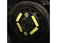 Genuine Audi Q5 18 inch 195/75/18 Space Master Spare Tyre