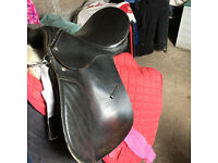 BLACK PONY SADDLE