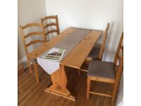 Assorted furniture - free - must go Tuesday!
