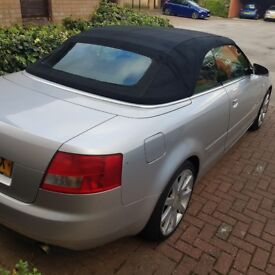 Audi a4 convertible 1.8 petrol manual