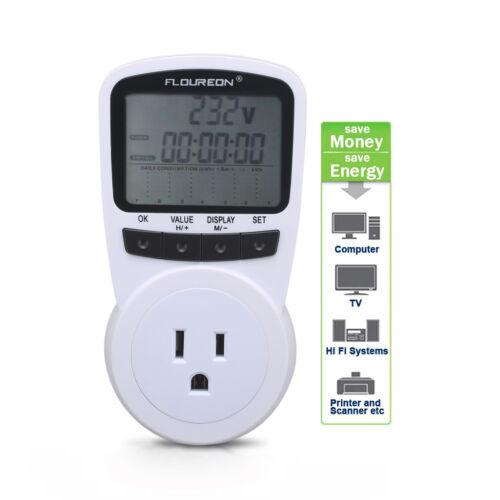 Energy Meter Watt Voltage Amp Calculator Electricity Monitor Analyzer US Plug