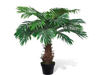 Lifelike Artificial Cycus Palm Tree with Pot 80 cm-241354