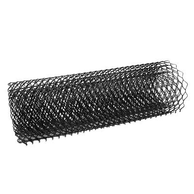 Hexagon Shape Grill Mesh 11x25mm Black Metal Car Body Front Bumper 100x33cm for sale  China