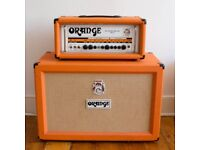 Orange Rockerverb 100 mkii Head and 2x12 closed back cab