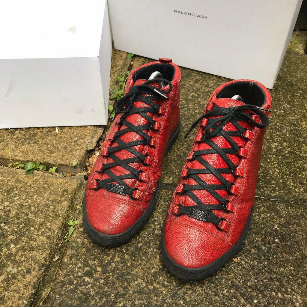 Balenciaga arena high top trainers size 6 | in Newham, London | Gumtree