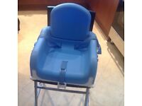 Lindam chair booster with tray