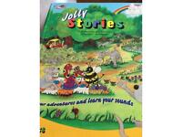 Jolly Stories. Learning to read book.