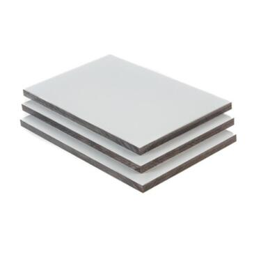 Hpl Platte Hpl Schichtstoff Fassadenplatten Balkon Hellgrau 6mm In