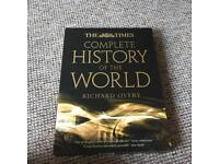 The Times complete history of the world by R.Overy-brand new